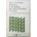 Per la storia sociale e religiosa del Mezzogiorno d'Italia