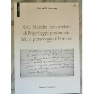 Note storiche documentate di brigantaggio postunitario fatti e personaggi di Morrone
