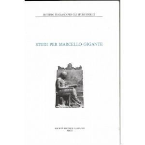Studi per Marcello Gigante