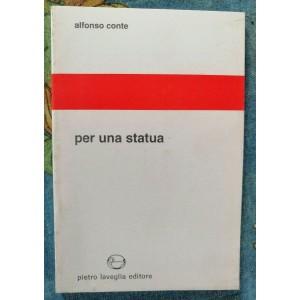 Alfonso Conte, Per una statua