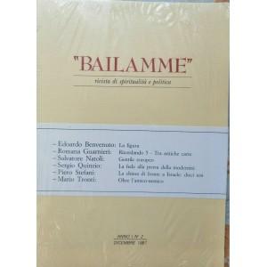 Bailamme rivista di spiritualità e politica n2