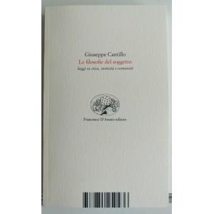 Giuseppe Carillo, La filosofia del soggetto