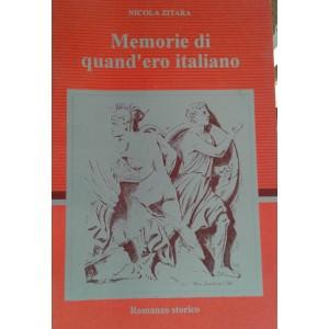 Memorie di quando ero italiano