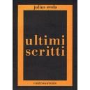 Gli ultimi scritti di Evola
